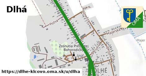 ilustrácia k Dlhá, Dlhé Klčovo - 2,1km