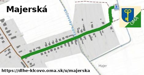 ilustrácia k Majerská, Dlhé Klčovo - 585m