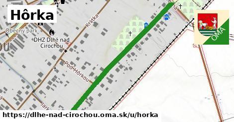 ilustrácia k Hôrka, Dlhé nad Cirochou - 499m