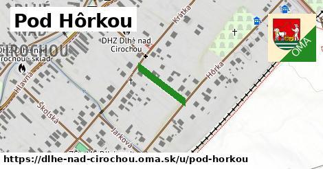 ilustrácia k Pod hôrkou, Dlhé nad Cirochou - 136m