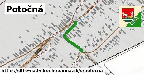 ilustrácia k Potočná, Dlhé nad Cirochou - 223m