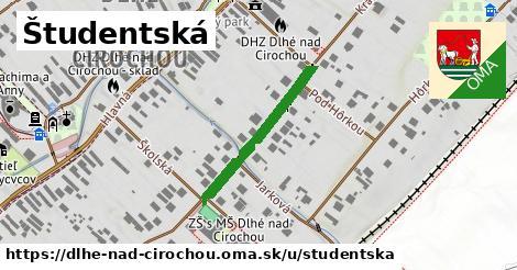 ilustrácia k Študentská, Dlhé nad Cirochou - 487m