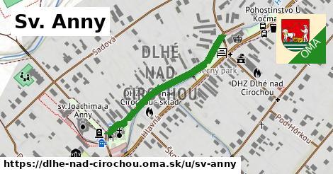 ilustrácia k Sv. Anny, Dlhé nad Cirochou - 344m