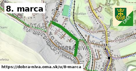 ilustrácia k 8. marca, Dobrá Niva - 525m