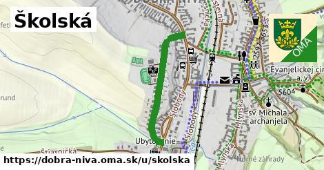 ilustrácia k Školská, Dobrá Niva - 595m