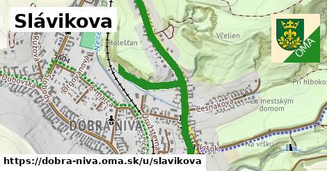 ilustrácia k Slávikova, Dobrá Niva - 1,34km