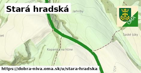 ilustrácia k Stará hradská, Dobrá Niva - 1,81km