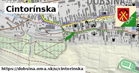 ilustrácia k Cintorínska, Dobšiná - 151m