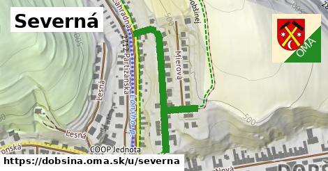 ilustrácia k Severná, Dobšiná - 322m