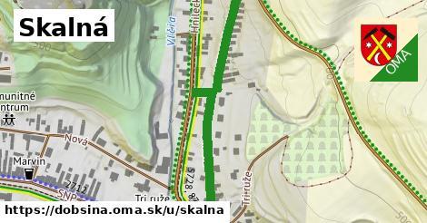 ilustrácia k Skalná, Dobšiná - 443m