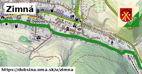 ilustrácia k Zimná, Dobšiná - 1,72km