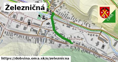 ilustrácia k Železničná, Dobšiná - 282m