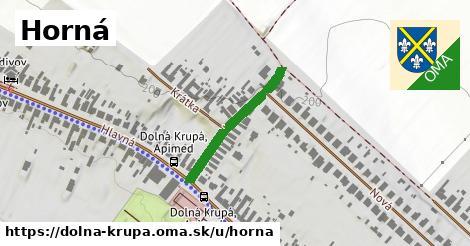 ilustrácia k Horná, Dolná Krupá - 236m