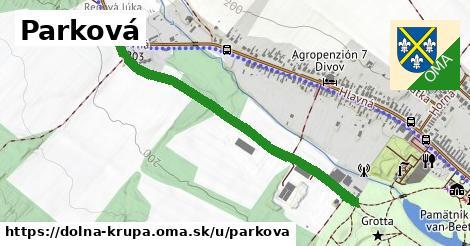 ilustrácia k Parková, Dolná Krupá - 0,96km