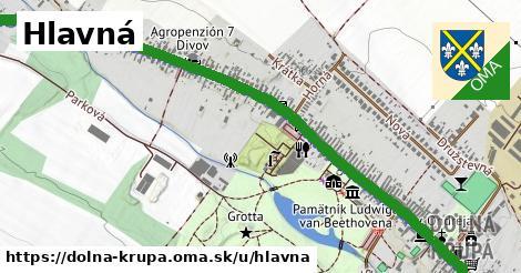 ilustrácia k Hlavná, Dolná Krupá - 2,3km