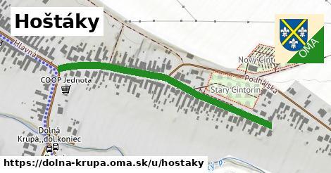 ilustrácia k Hoštáky, Dolná Krupá - 517m