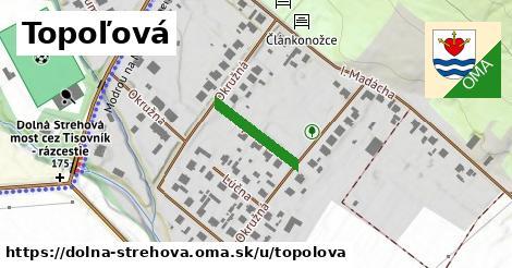 ilustrácia k Topoľová, Dolná Strehová - 150m