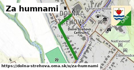 ilustrácia k Za humnami, Dolná Strehová - 317m