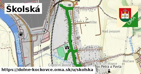 ilustrácia k Školská, Dolné Kočkovce - 662m