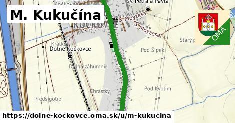 ilustrácia k M. Kukučína, Dolné Kočkovce - 0,84km