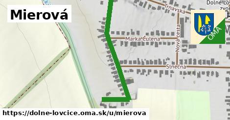 ilustrácia k Mierová, Dolné Lovčice - 423m