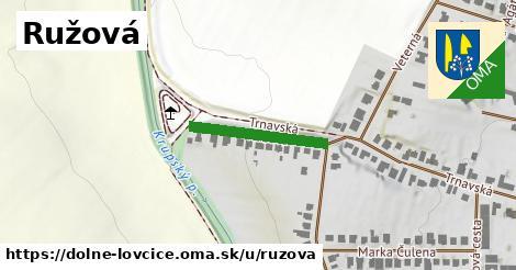 ilustrácia k Ružová, Dolné Lovčice - 183m