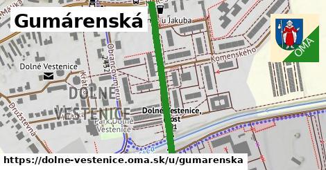 ilustrácia k Gumárenská, Dolné Vestenice - 311m