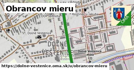 ilustrácia k Obrancov mieru, Dolné Vestenice - 310m