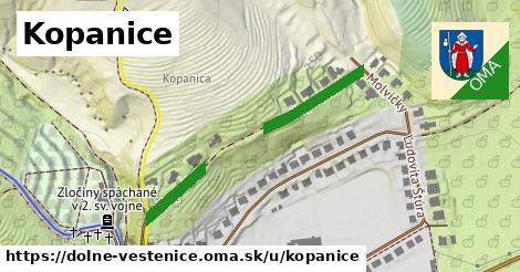 ilustrácia k Kopanice, Dolné Vestenice - 278m