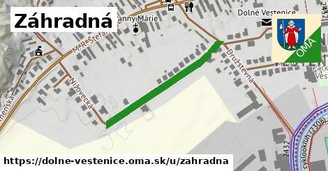 ilustračný obrázok k Záhradná, Dolné Vestenice