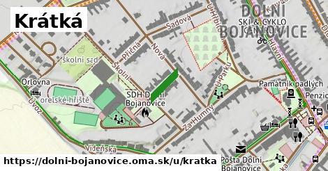 ilustrácia k Krátká alej, Dolní Bojanovice - 667m