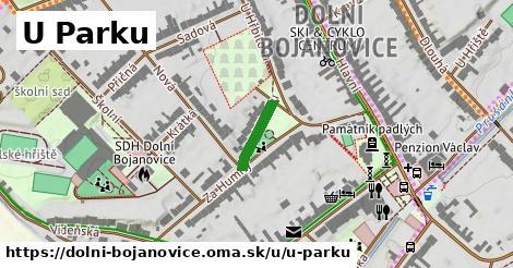 ilustrácia k U Parku, Dolní Bojanovice - 110m