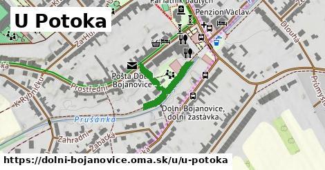 ilustrácia k U Potoka, Dolní Bojanovice - 153m