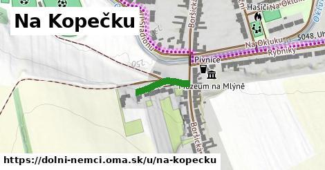ilustrácia k Na Kopečku, Dolní Němčí - 130m