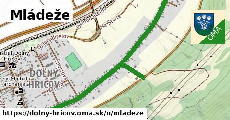 ilustrácia k Mládeže, Dolný Hričov - 1,62km