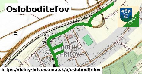 ilustrácia k Osloboditeľov, Dolný Hričov - 1,57km
