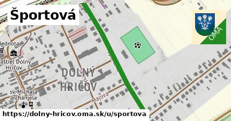 ilustrácia k Športová, Dolný Hričov - 418m