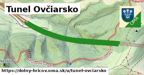 ilustrácia k Tunel Ovčiarsko, Dolný Hričov - 1,91km