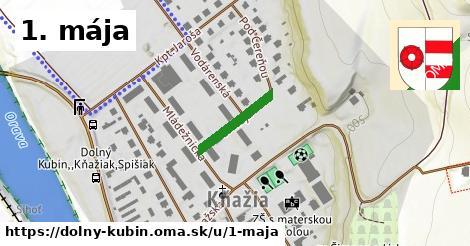 ilustrácia k 1. mája, Dolný Kubín - 146m