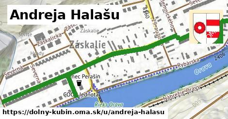 ilustrácia k Andreja Halašu, Dolný Kubín - 0,88km