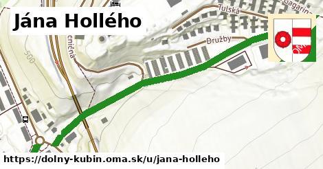 ilustrácia k Jána Hollého, Dolný Kubín - 542m