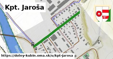 ilustrácia k Kpt. Jaroša, Dolný Kubín - 376m