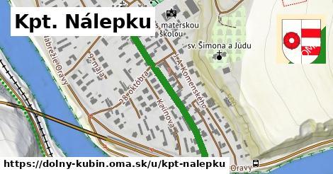 ilustrácia k Kpt. Nálepku, Dolný Kubín - 391m