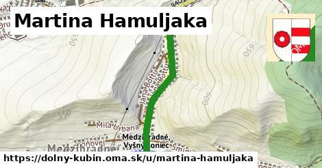 ilustračný obrázok k Martina Hamuljaka, Dolný Kubín