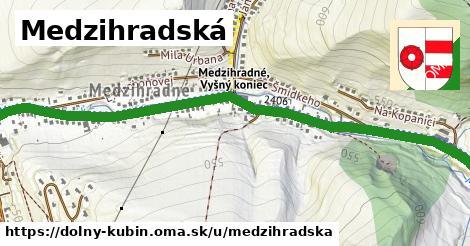 ilustrácia k Medzihradská, Dolný Kubín - 1,78km