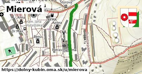ilustrácia k Mierová, Dolný Kubín - 374m