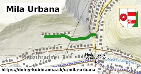 ilustrácia k Mila Urbana, Dolný Kubín - 284m