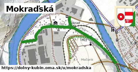 ilustrácia k Mokraďská, Dolný Kubín - 1,37km