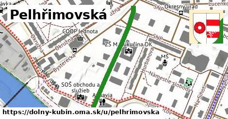 ilustračný obrázok k Pelhřimovská, Dolný Kubín