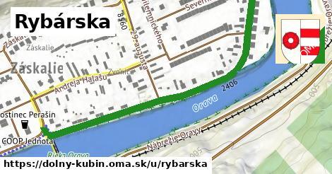ilustrácia k Rybárska, Dolný Kubín - 663m
